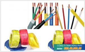 Thông số kỹ thuật dây điện cadivi