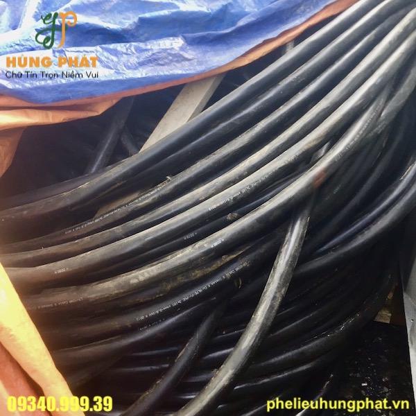 Thu mua dây cáp điện phế liệu