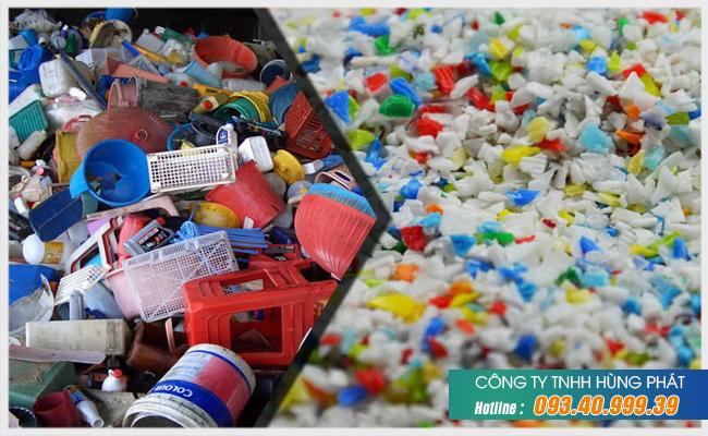 Thu mua nhựa PP phế liệu