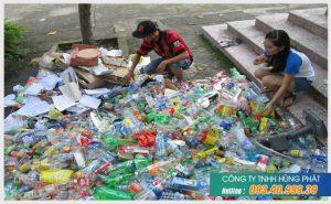 Hùng Phát là công ty thu mua ve chai hàng đầu tại TPHCM
