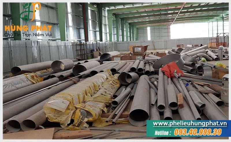 Thu mua inox phế liệu giá cao tại TPHCM
